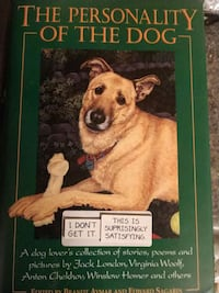 The personality of a dog.  book Abilene, 79605