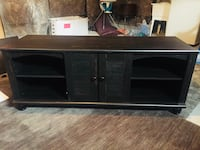 brown wooden sideboard with mirror Whitby, L1P
