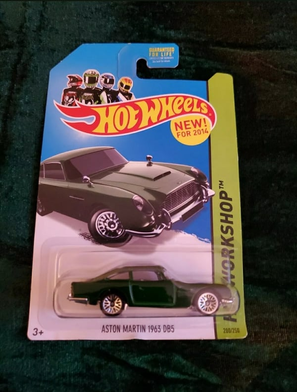 2014 HOT WHEELS ASTON MARTIN 1963 DB5 HW WORKSHOP 78761d96-5175-4127-b4fa-993352d957fd
