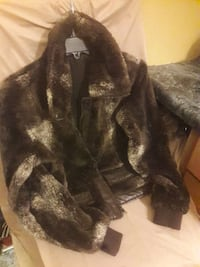 black and gray fur coat Terre Haute, 47807