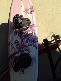 pink and white floral wakeboard Napa, 94558