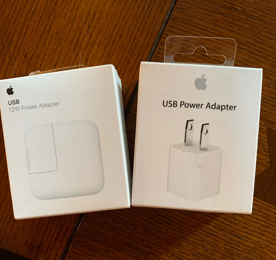 Photo Authentic Apple USB 5V or 12V Power Adapter NEW