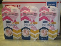 NEW Schick Intuition f.a.b. Razors 3 pack- $7 Each Hyde Park, 12538