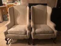 2 High Back Accent Chairs Las Vegas, 89148