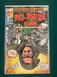 Marvel No Prize Book Stan Lee on Cover