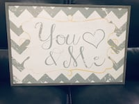 white and pink Love You Love wall decor Mesa, 85207