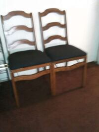 Restored Vintage Folding Wooden Chairs Fresno, 93703