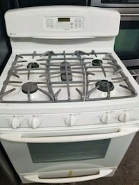 white 4-burner gas range Las Vegas, 89110