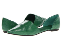 Chinese Laundry Women's Flat Shoes, Green, Size 9