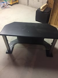 Black and grey tv stand Oakville, L6L