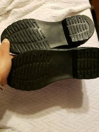 pair of black-and-gray wedge sandals Manassas, 20109