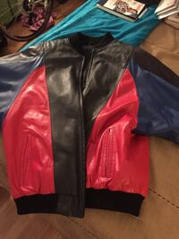 Leather jacket, multicolor. M/L. Fort Lauderdale, 33311
