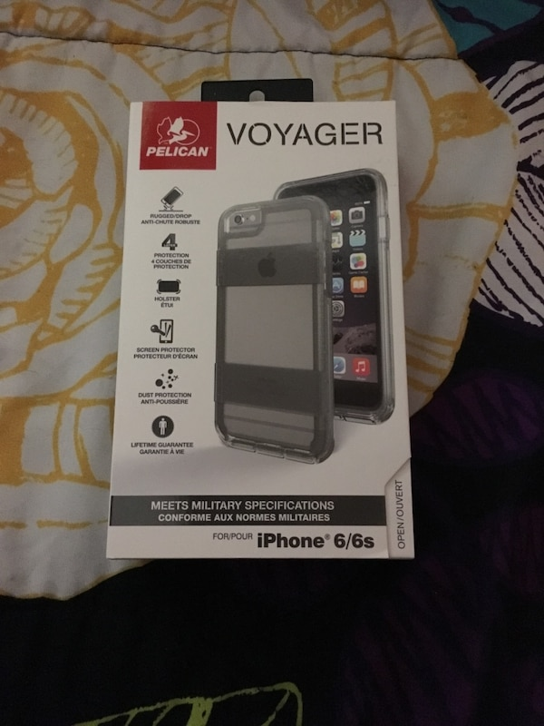 iPhone case (kind of like an otterbox)