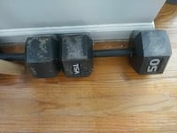 black and silver dumbbells Smyrna, 30080
