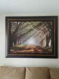 brown wooden framed painting Ocala, 34471