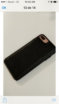 Black and brown leather smartphone case Hyattsville, 20783