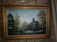 """24"""" X 36 """" oil canvas painting . 32x43 with Frame Laval, H7R 3E5"""