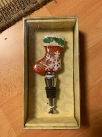 Christmas Bottle Stopper  Mississauga, L5N 7T7