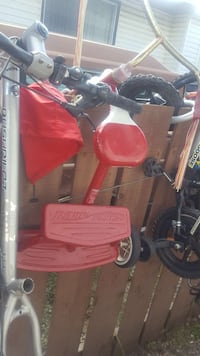 red and black Radio Flyer pedal trike Calgary, T2A 5Y8
