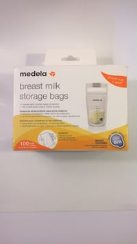 100 count Medela Breast Milk Storage Bags Harrison, 48625