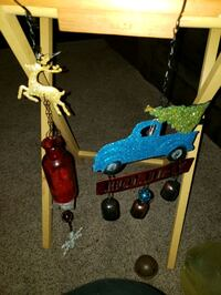 2 christmas wind chimes