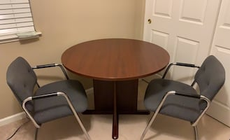 Great Office Table with 3 chairs