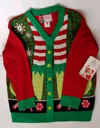 Christmas Sweater NWT Women's Size L New Castle, 16102