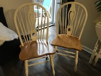 Four brown wooden windsor chairs Nashville, 37212