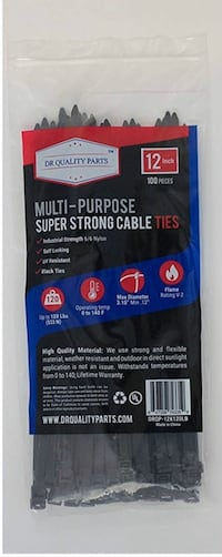 12inch multi-purpose super strong cable ties