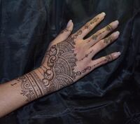 Bridesmaid/ Party/ Wedding Guest Henna  Session Germantown