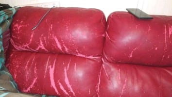 Used leather couches PICK UP ONLY