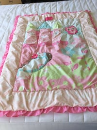 green and pink floral textile West Palm Beach, 33411