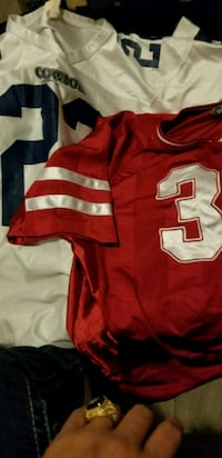 red and white NFL jersey Winnipeg, R3J 1L1