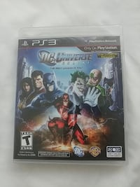 Sony PS3 DC Universe Online case Los Angeles, 91335