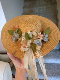 Decorative flower hat Belvidere, 61008