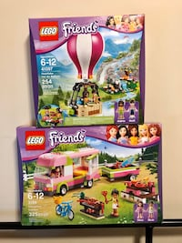 LEGO Friends 41097 and 3184 Brand New in Box