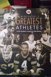 Mississippi's Greatest Athletes / first edition Brandon, 39042