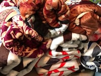 Queen size throws, great Christmas gifts