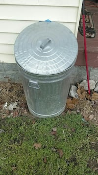 gray steel trash can New Market, 37820