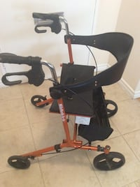 Hygo sidekick rollator walker fortable uset short time excellent condition  model 700983 Toronto, M2R 2A3