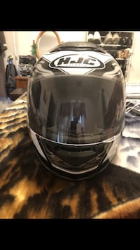 black and white HJC full face helmet Arlington, 22206