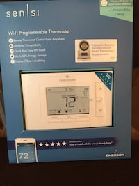 WiFi and programmable thermostat 25 mi