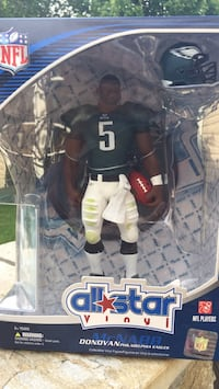 All star Vinyl Donovan McNabb Upper Deck Figure. Gambrills, 21054