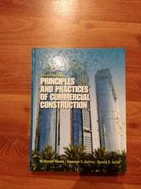 Principles and Practices of Commercial Constructio Surrey, V3T 5W2