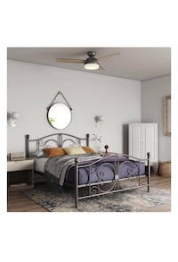 Bronze Full Bed $79 or get with P.Mattress for $259 JM* Houston, 77092