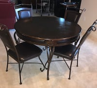 Kitchen/Dining Table with 4 matching chairs Clarksburg, 20871