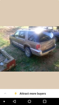 Mercury mountaineer 2002 Sperryville, 22740