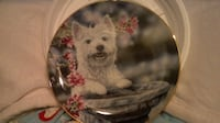 Limited Edition Westie Plate titled Standing Tall Las Vegas