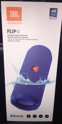 purple JBL Flip 4 blue
