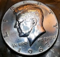 """1967'silver""""doubleD,UNC Manchester, 03102"""
